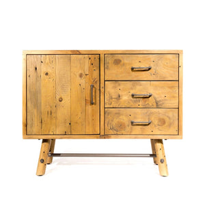 Clifton Reclaimed Pine Sideboard 95cm