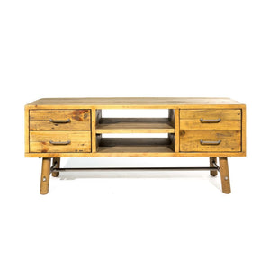 Clifton Reclaimed Pine TV Unit