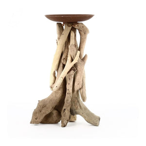 Driftwood Candle Holder Centrepiece