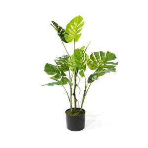 Faux Monstera Tropical Plant