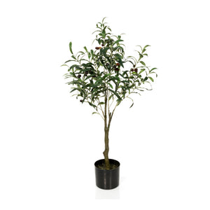Faux Olive Tree Plant