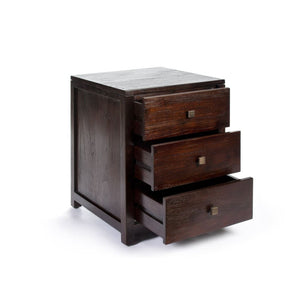 Harmoni 3 Drawer Side Table