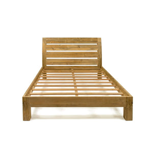 Henry Natural Teak Arc Bed - King Size