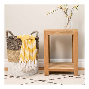 Indah Natural Lamp Side Table