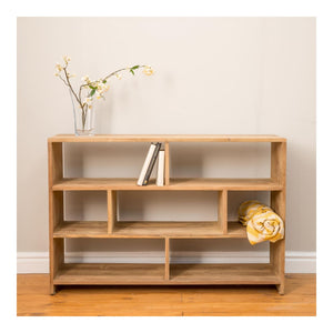 Indah Natural Mini Cubic Shelving Unit