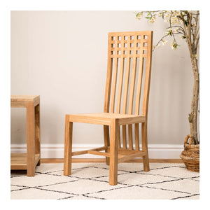 Indah Natural Teak Santiago Chair