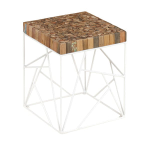 KLEO Reclaimed Rubik Side Table