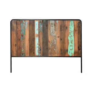 KLEO Recycled Wood Industrial Headboard 4 FT 6