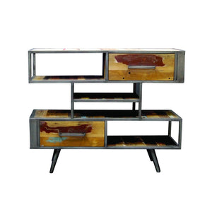 KLEO Recycled Wood Wide Industrial Buffet