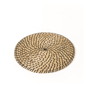 Large Woven Wicker Tribal Table Centre Mat