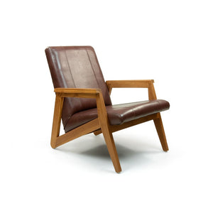 Madison Leather Armchair - Brown