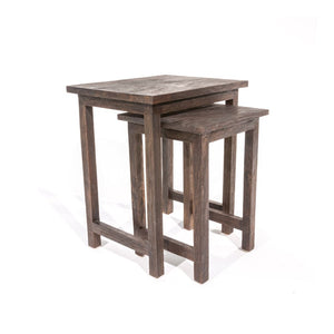 Mindi Dark Brown Nest of Tables