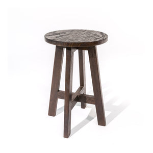 Mindi Dark Brown Stool