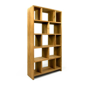 Mino Natural Modular Bookcase