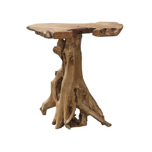 Natural Teak Root Bar Table