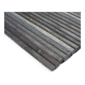 Slatted Wood Placemat - Dark