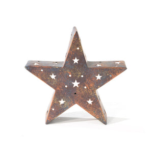 Star Tea Light Candleholder
