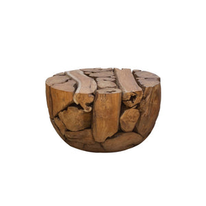 Teak Root Half Ball Coffee table