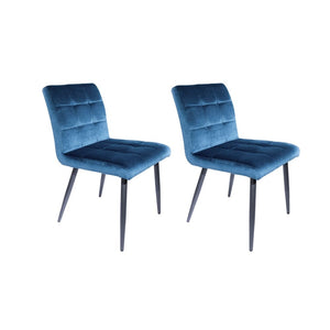 Tufted Bexley Velvet Dining Chairs Set of 2 (£124.50 each)