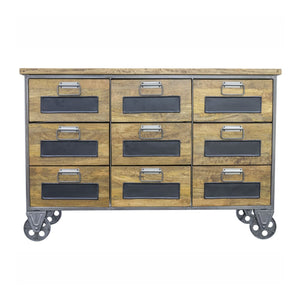 Urban Apothecary Style Chest on Wheels