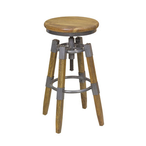 Urban Industrial Adjustable Bar Stool