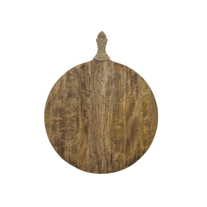 Urban Industrial Large Round Serving Board