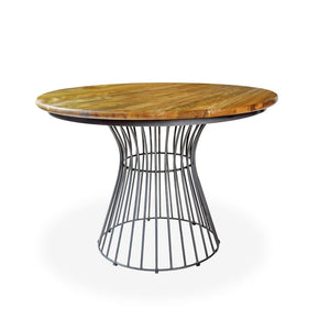 Urban Industrial Round Dining Table