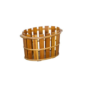 Urban Wooden Storage Basket