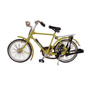 Vintage Miniature Mens Bicycle - Green