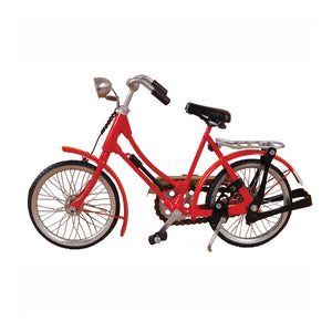 Vintage Miniature Womens Bicycle - Red