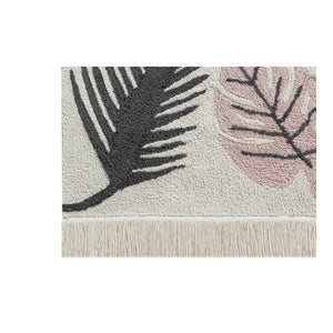 Washable Rug Tropical Pink