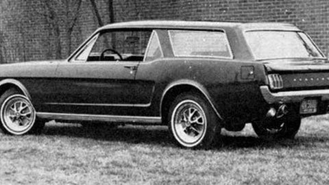 1965Mustang Station Wagon