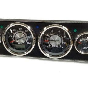 1965-1966 Mustang Billet Aluminum Performance Gage Panel