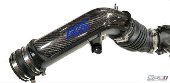 2016-2018 Focus RS Carbon Fiber Air Intake Tube Cover Insert