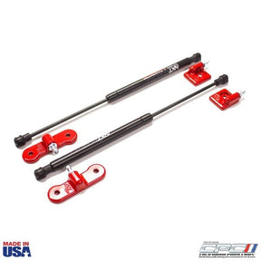 2016-2018 Focus RS Hood Lift Kit, Race Red