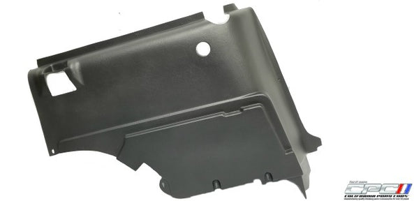 1967-1968 Mustang Fastback/Shelby Quarter Trim Panel with Roll Bar Cut-Out