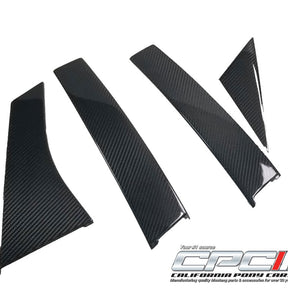 2012-2018 Focus ST/ 2016-2018 RS Carbon Fiber Pillar Post 8pcs Kit