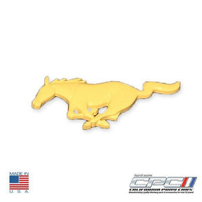 1994-2004 Mustang Running Horse Emblem, Canary Yellow
