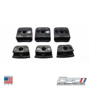 1965-1967 Mustangs Horn Ring Contact Plate Insulator Kit for Wood Wheel