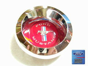 1967-1969 Mustang  Hub Center with Red Emblem