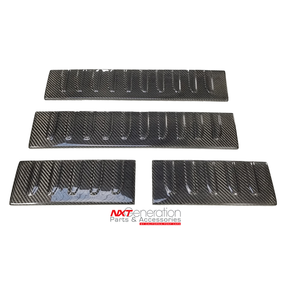 2015-2020 F-SERIES 4PC CARBON FIBER DOOR SILL PLATES