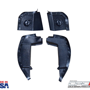 1969 Mustang ABS Fender splash shield set