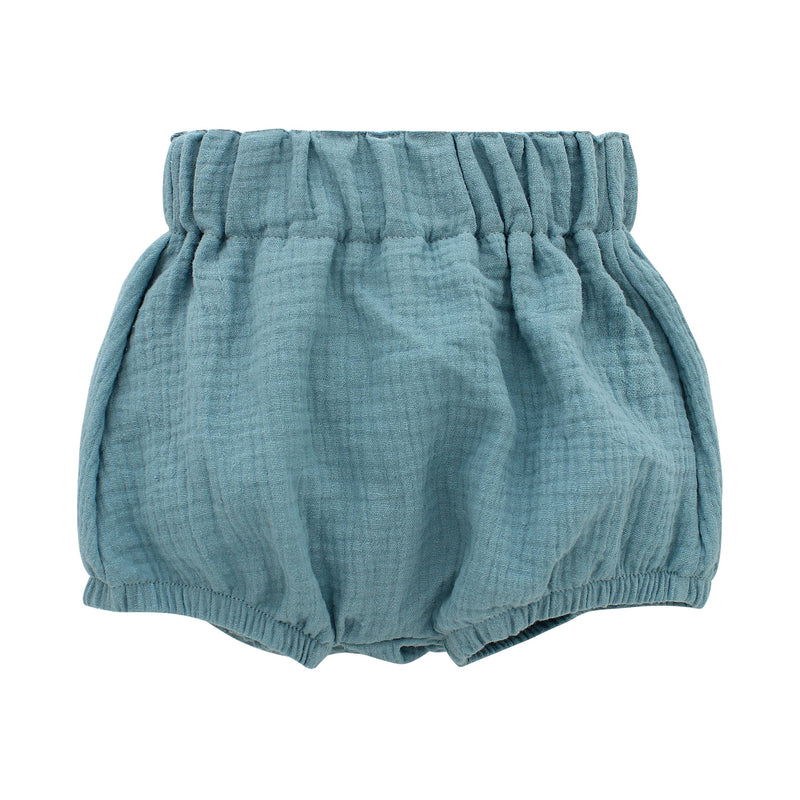 Emerson and Friends // Dusty Blue Gauze Baby Bloomers