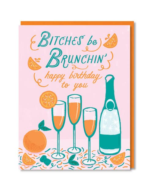 Brunchin' Birthday Card