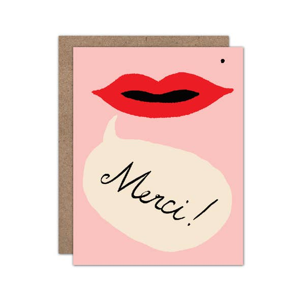 Merci - Thank You Card