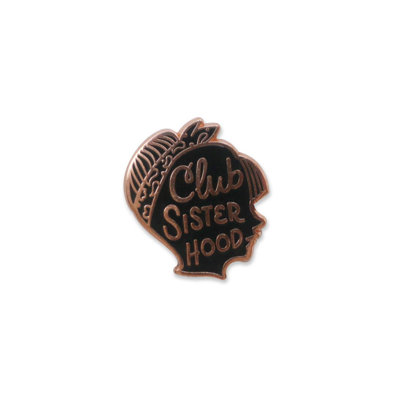 Club Sisterhood Lapel Pin