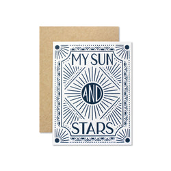 My Sun and Stars Card