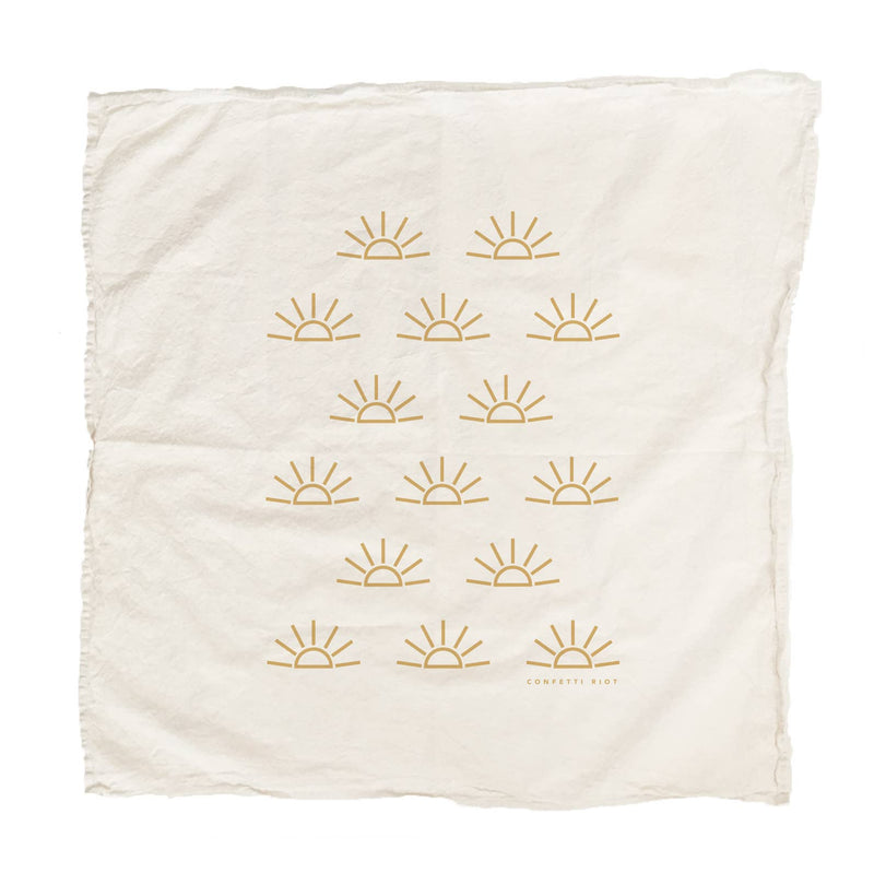 Sunrise Tea Towel