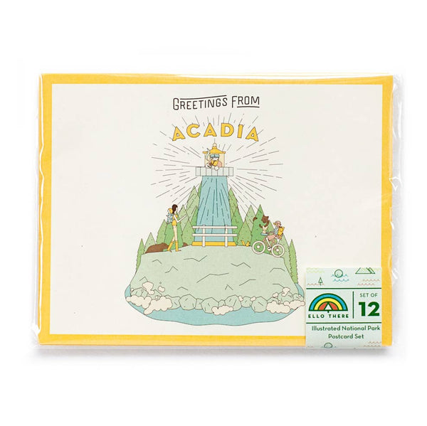 Set of 12 National Parks Postcards