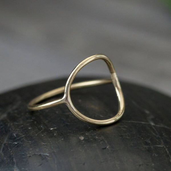 Open Circle Wire Ring